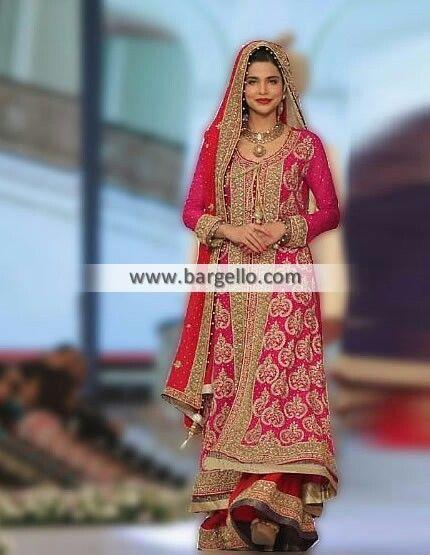 0622e7ea72 Dark pink sharara | Gharara, Sharara, Dhaka Pajama & Farshi Pajama ...