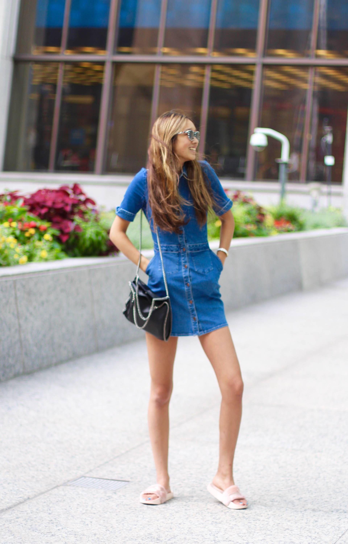 b893d56f Zara Mini Denim Dress Blue Pictures | Zara Mini Denim Dress Blue ...
