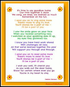 End Of Year Poems Festivities Pinterest Early Education Poem