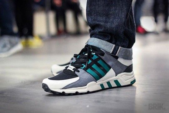 Adidas Eqt Running Support On Feet