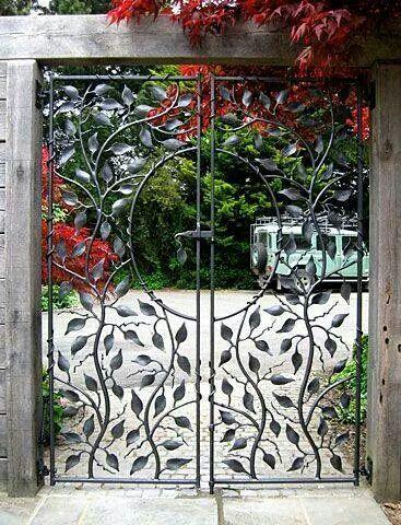 Pin By George On Wrought Iron Garden Gates Metal Garden Gates