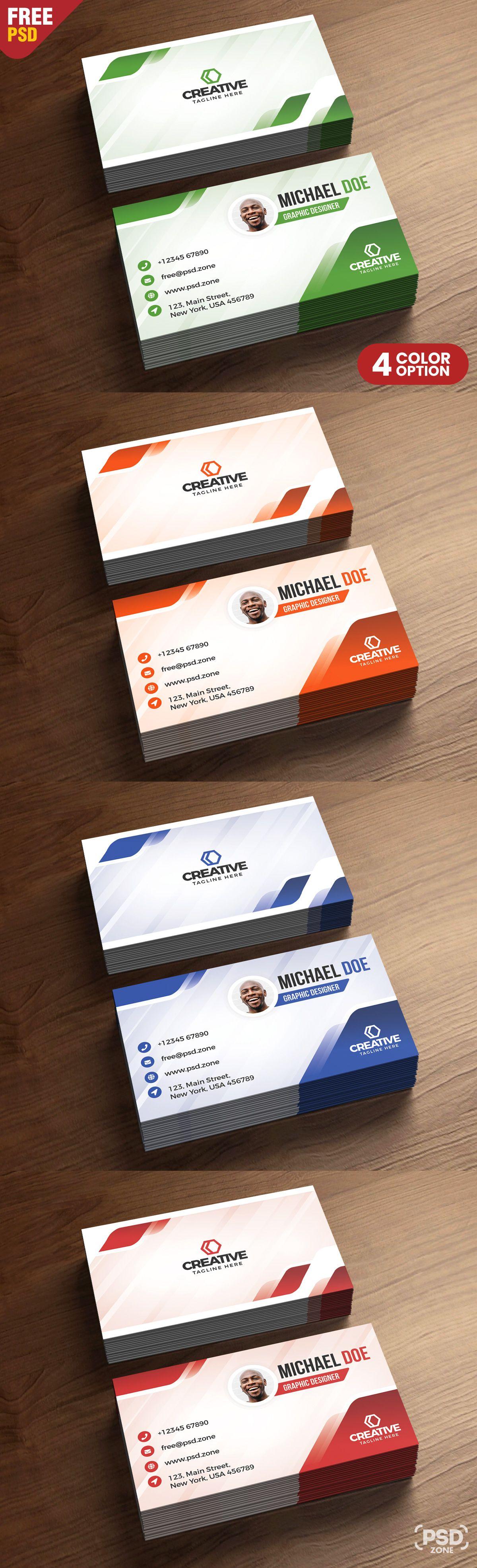 Modern Business Cards Design Psd Business Card Design Modern Business Cards Business Card Psd