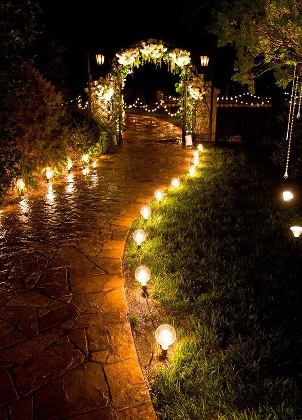 What an entrance to the next big event party ideas pinterest what an entrance to the next big event pathway lightingoutdoor aloadofball Images