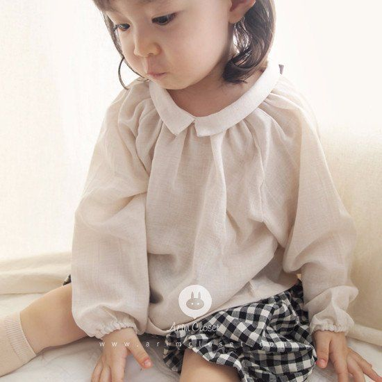 Arim Closet Organic Style Baby Blouse (With images