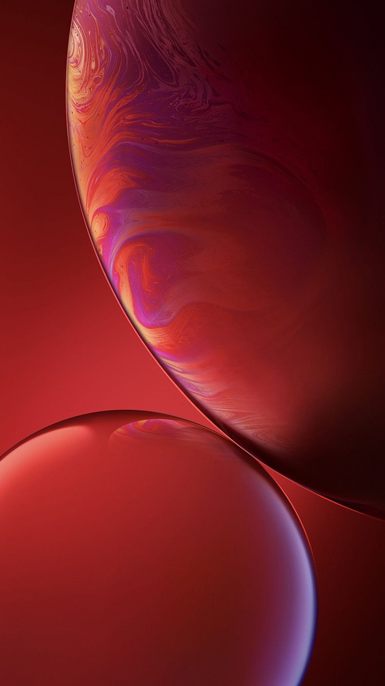 Bg36 Iphone Xs Max Apple Official Art Red Bubble Fondos De