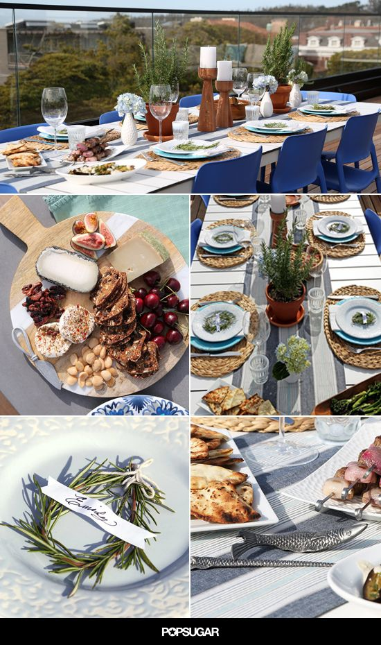 Greek Menu Ideas For Dinner Party Part - 26: Mediterranean-Themed Dinner Party Decor