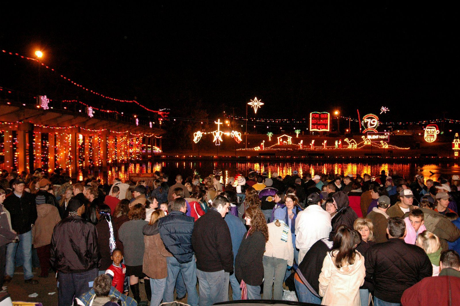 Natchitoches Christmas Festival.Natchitoches Christmas Festival Of Lights On Cane River Lake