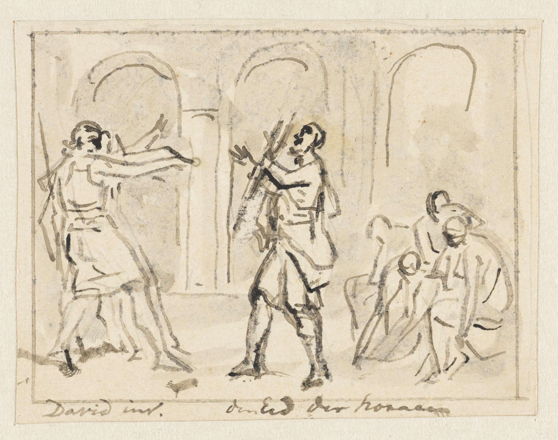 Jurriaan Andriessen | De Eed der Horatii, Jurriaan Andriessen, Jacques Louis David, 1752 - 1819 |