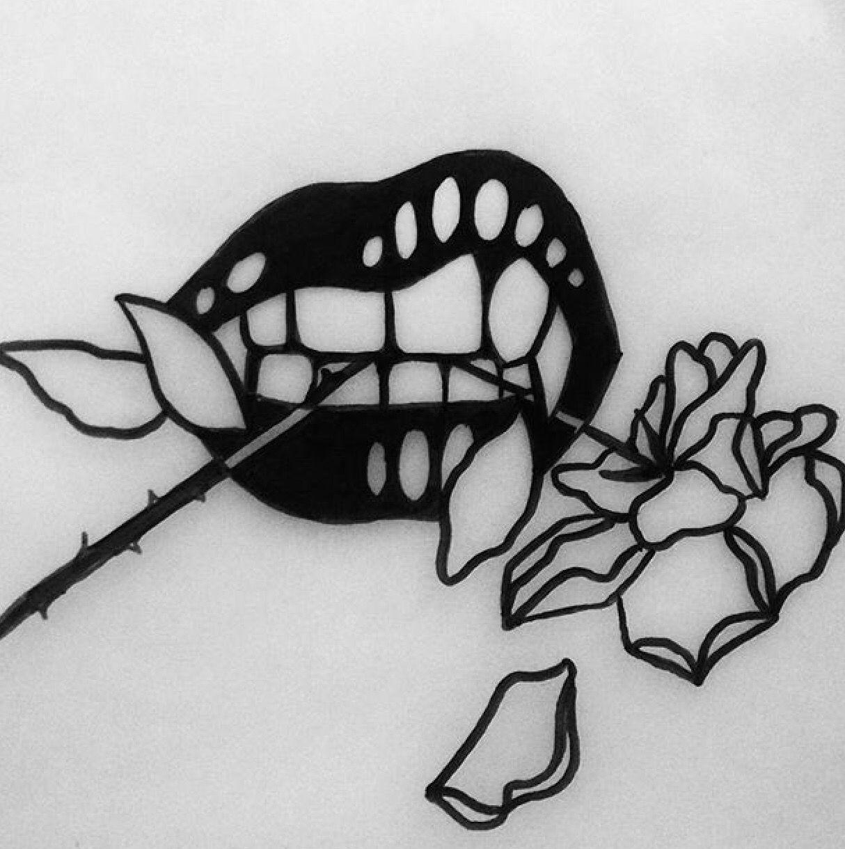 Piercing above lip to the side  Johny gloom u this would be a great side rib tattoo u  Ķēēp cåłm
