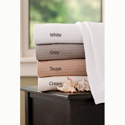 Waffle Weave Bath Towel Classic Style With Images Waffle