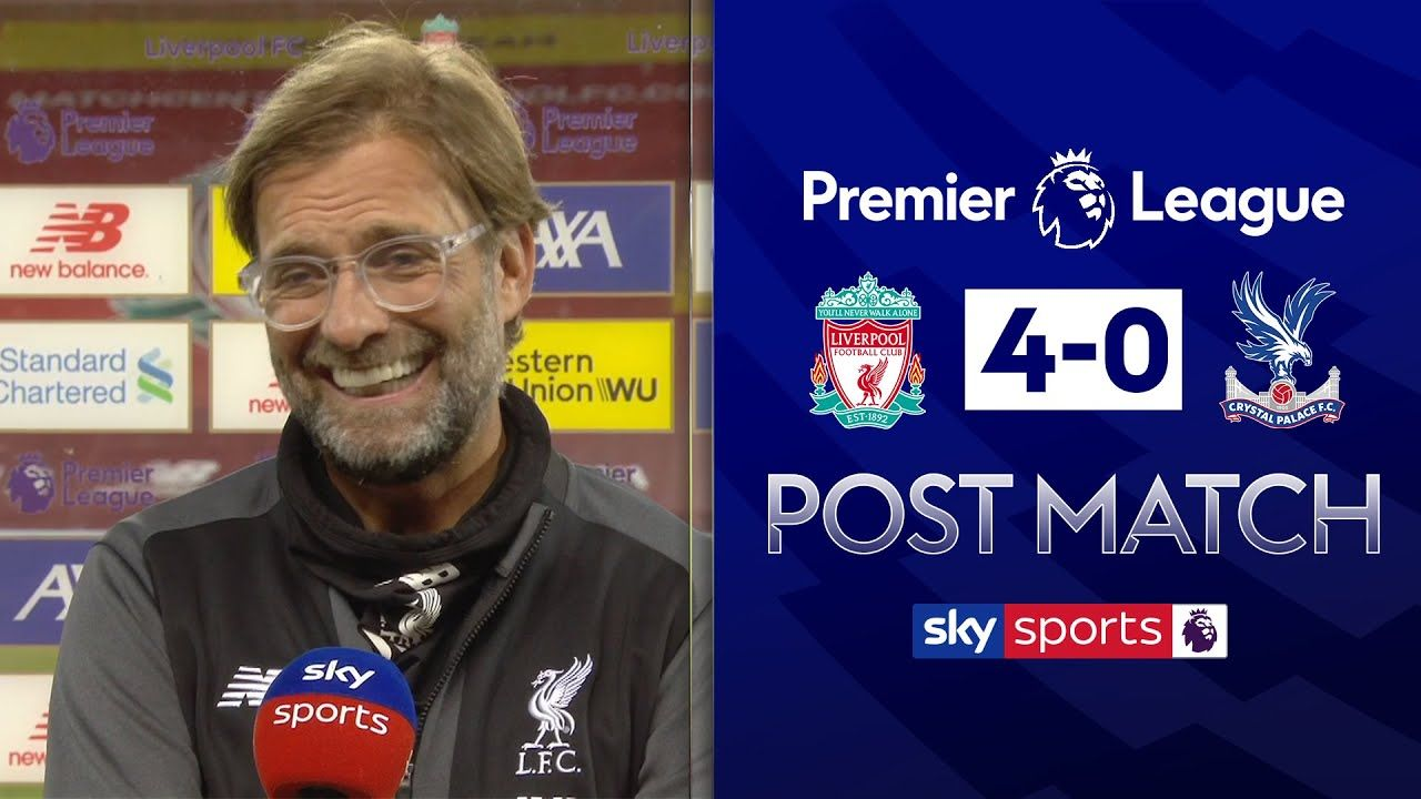 Jurgen Klopp praises Liverpool reaction in big win over