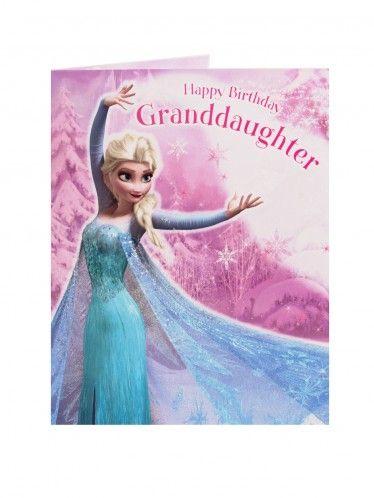 Disney birthday wishes for granddaughter disney frozen large disney birthday wishes for granddaughter disney frozen large birthday card granddaughter elsa general m4hsunfo