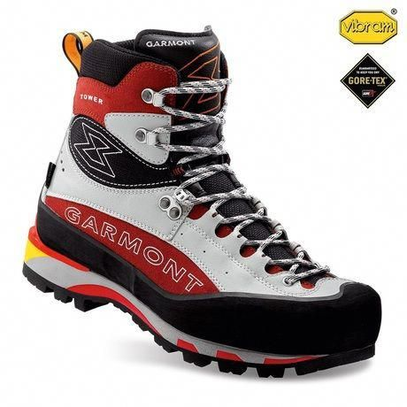 Mens Tower Plus Gtx Boots Red Grey Hikingbootsideas Hiking Boots Best Hiking Boots Boots