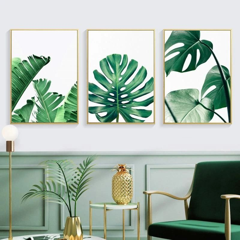 For those who are craving some greenery..🌿 High quality cotton canvas with vivid colors that won't fade✔ Order now at www.indeqor.com #wallart #greenery #artprint #canvasprint #canvas #greeneryprint #painting #homedecor #modernhome #wallartdecor