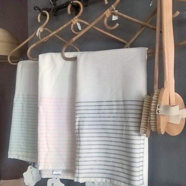 Goedemorgen. De #winkel is weer open.  @koeka #hamam #handdoek #koeka #wellness #badkamer #accessoires #wonen #home #bathroom #shopping #bussum #woonwinkel by housedressing_bussum