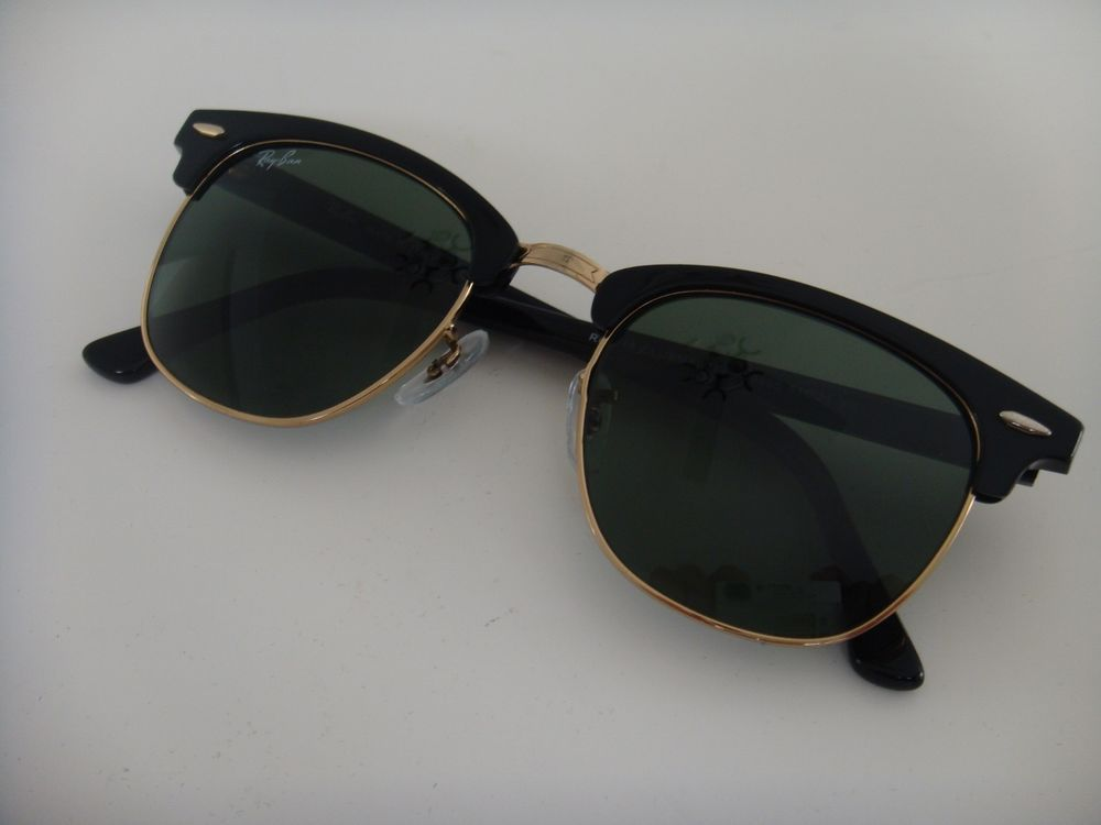 4fa2f43f89 New Ray Ban Clubmaster Sunglasses 3016 W0365 Black 51 mm  fashion  clothing   shoes  accessories  unisexclothingshoesaccs  unisexaccessories (ebay link)