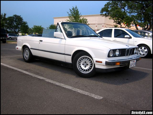 1989 BMW 325i except minus the convertible part And dark teal