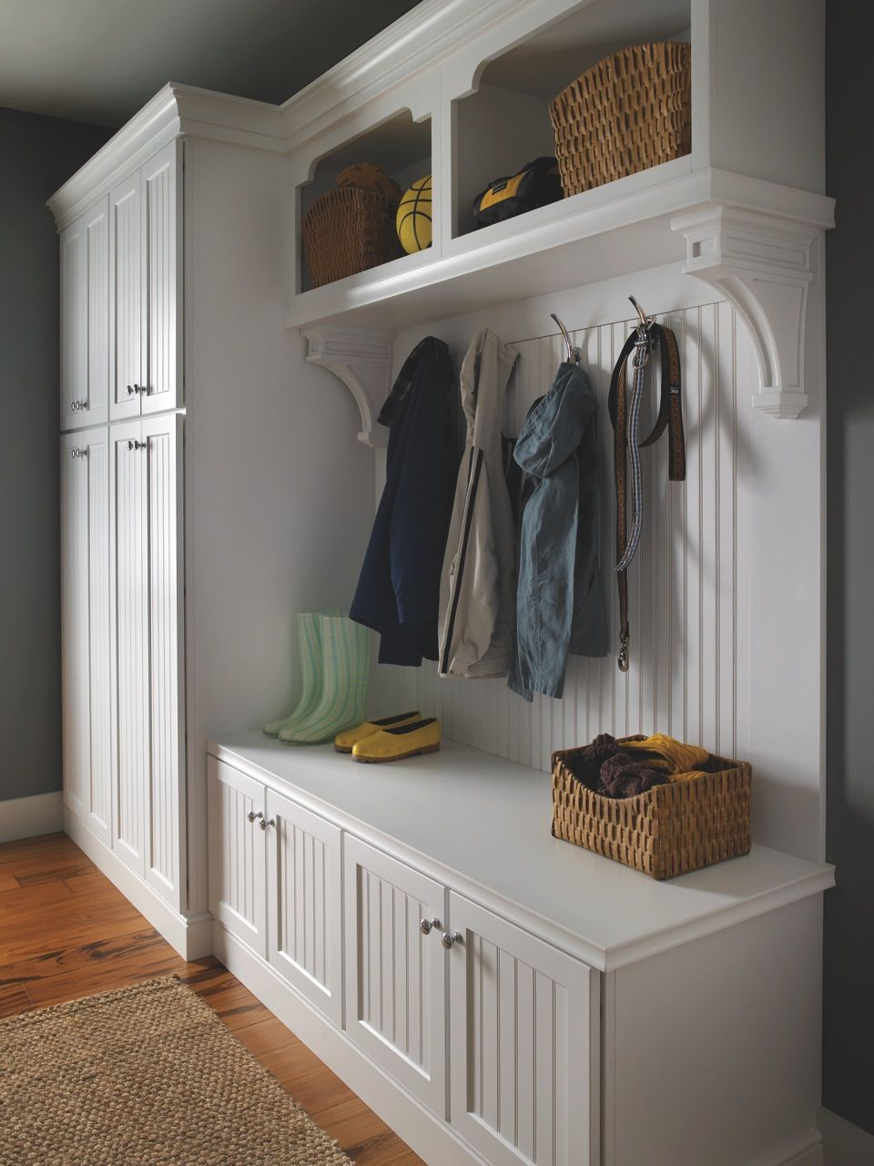 Keep The Entrance Of Your Home Organized And Convenient With An Entrance Cabinet That Includes A Benc Entryway Storage Entryway Storage Cabinet Stylish Cabinet