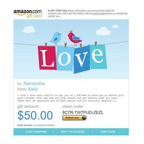 Amazon Gift Card E Mail Love Http Www Amazon Com Amazon Gift Card E Mail Love Dp B004wkpvbc Tag Sure9600 Best Gift Cards Gift Card Valentines Gift Card