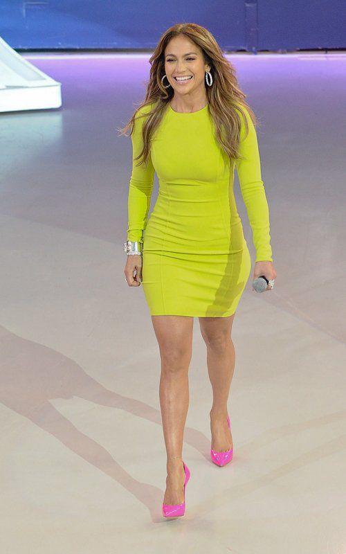 Vestido verde amarillo limon