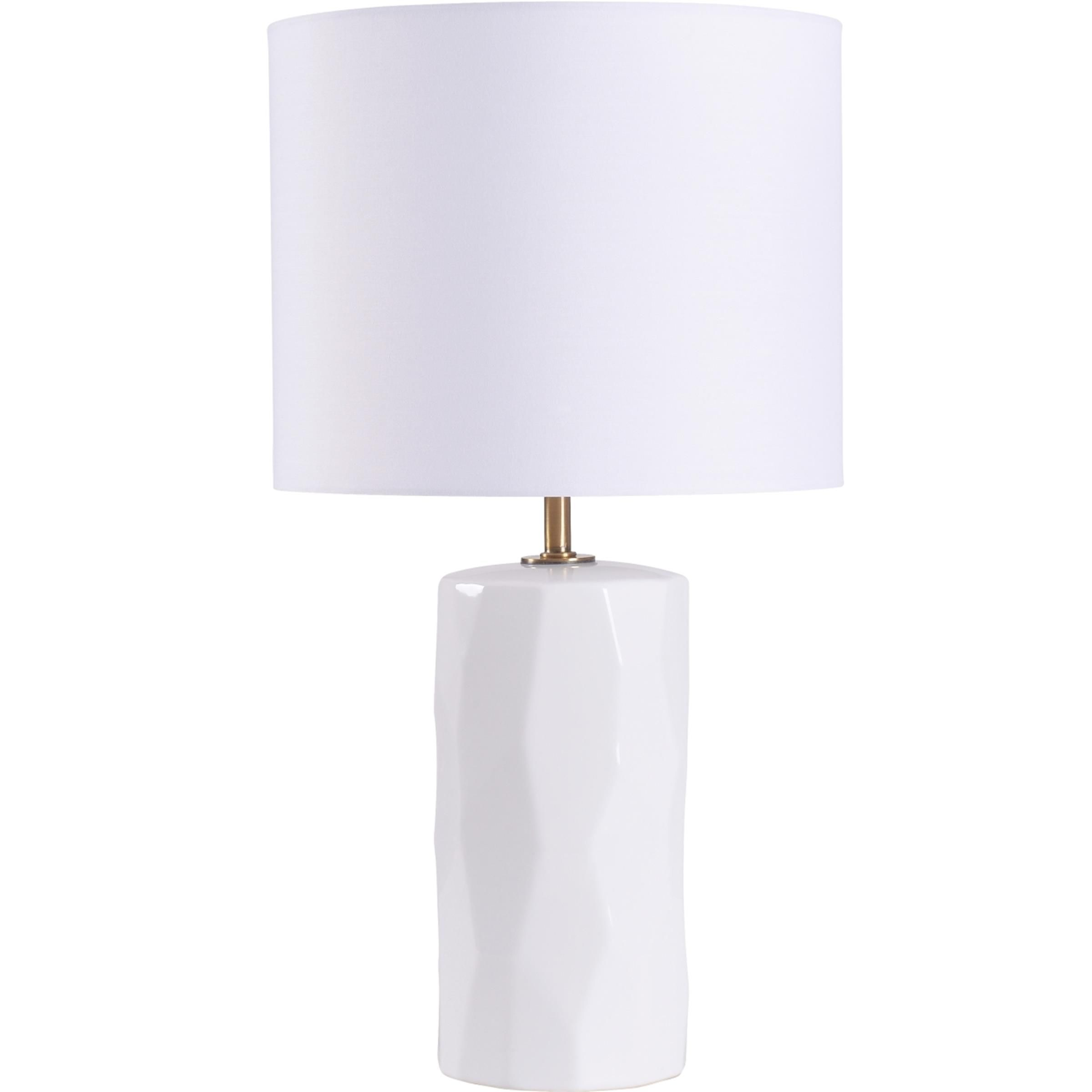 Mainstays White Ceramic Table Lamp in 2020