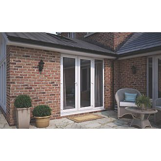 Att Fabrications Ltd Upvc French Doors Sidelight White 2390 X 2090mm Upvc French Doors French Doors External French Doors