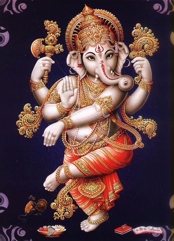 Dancing Ganesha Dancing Ganesha Ganesha Painting Ganesha