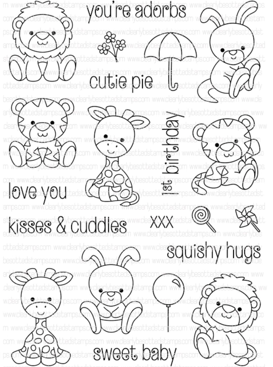 Pin By Cheyenne Van Kersbergen On Trafarety Clear Stamps Coloring Pages Stamp