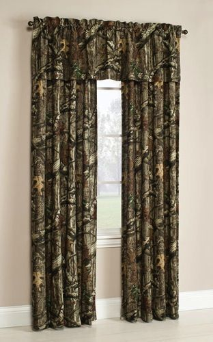 Mossy Oak Window Curtain Panels Break Up Infinity Walmart Com Camo Curtains Camo Rooms Camo Furniture