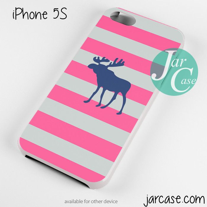 abercrombie and fitch pink blaster white Phone case for iPhone 4 ...
