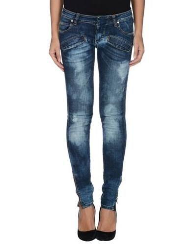 #Pierre balmain pantaloni jeans donna Blu  ad Euro 277.00 in #Pierre balmain #Donna jeans pantaloni jeans