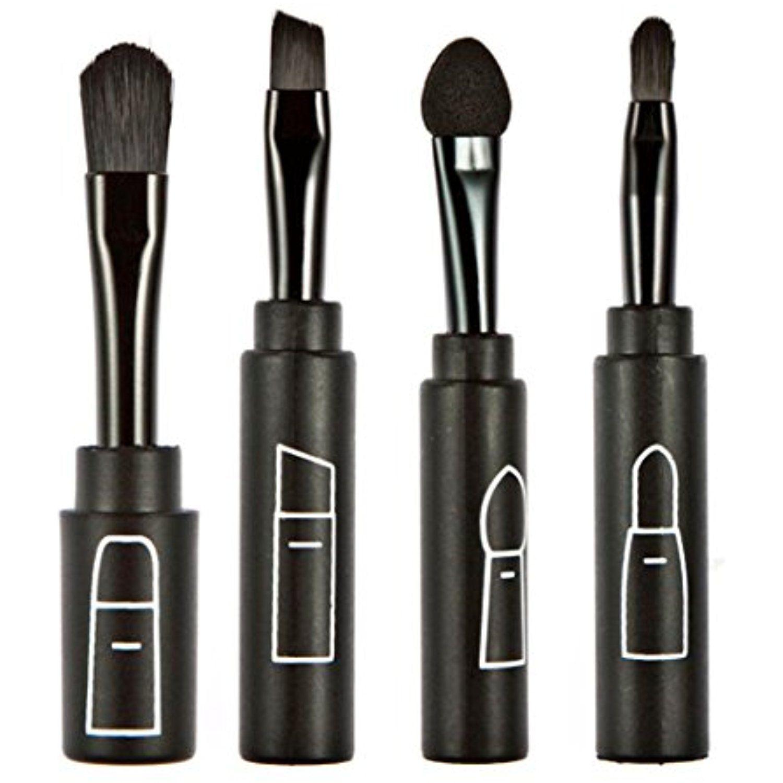 Binmer(TM) Makeup Brush Set Tools Multifunction Folding
