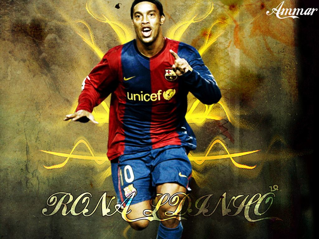 Cool Ronaldinho Wallpapers For Iphone Fotboll Bilder Fotboll Bilder