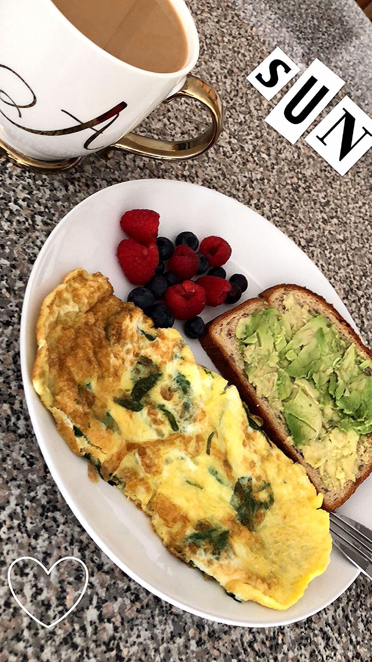 Gesundes Frühstück für die Ernährung