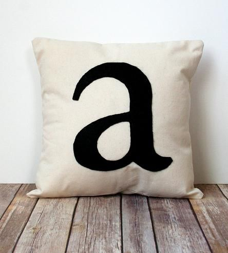 Initial Pillow Covers Custom Initial Pillow Covercarijoy Designs On Scoutmob Shoppe