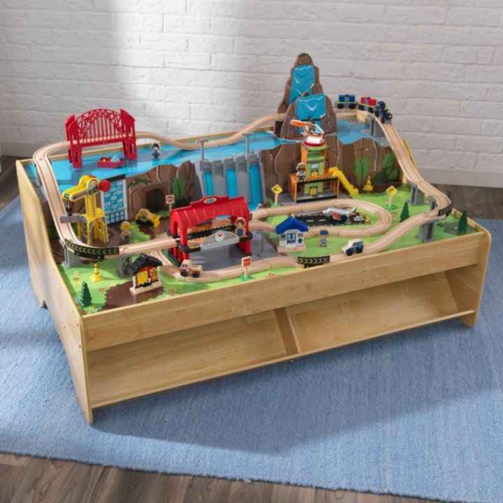Grand Central Station Train Set Table Train Set Table Train
