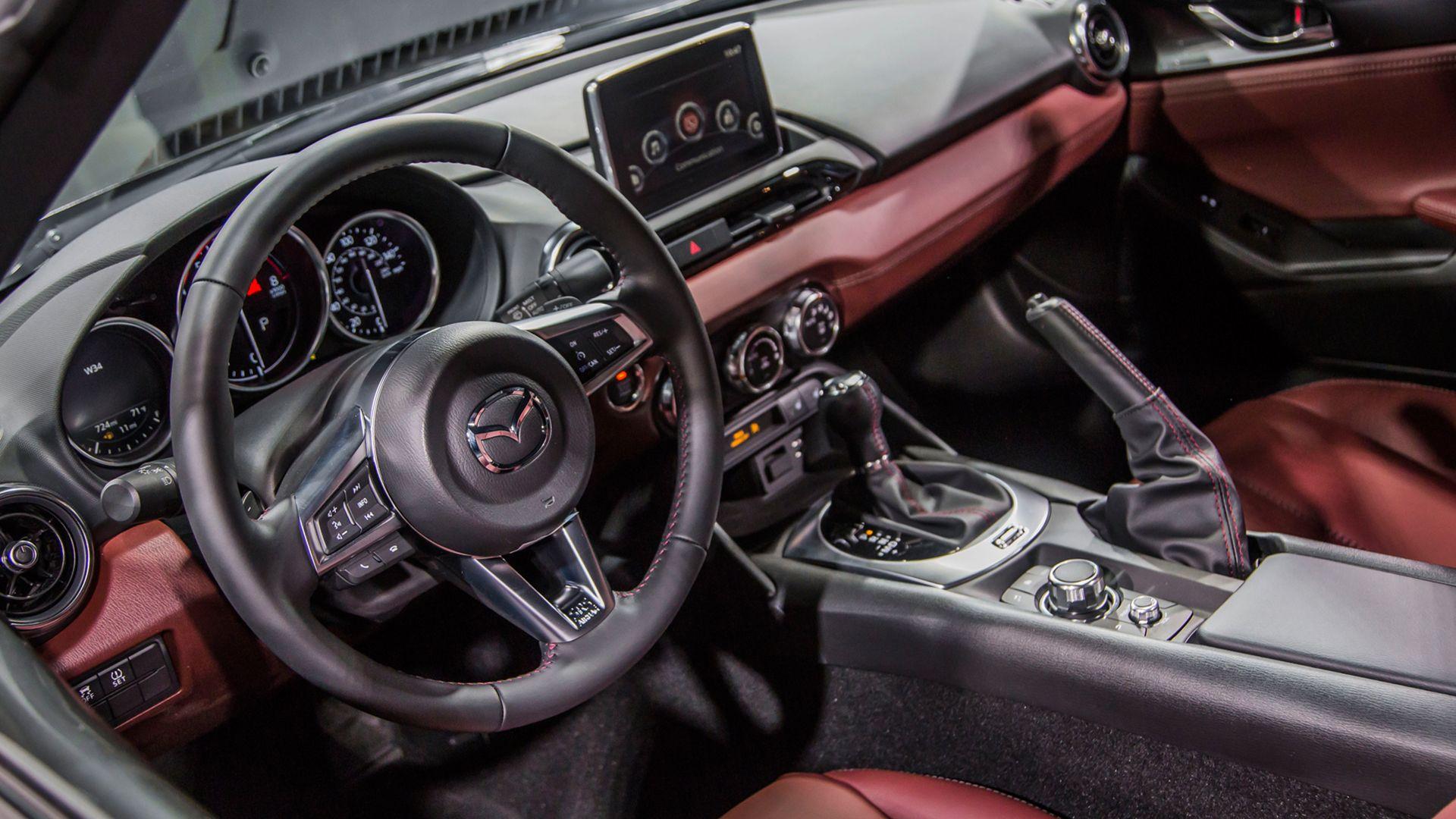 2019 Mazda Mx 5 Interior Design Carros