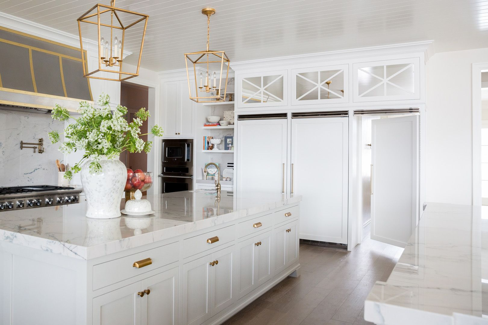 Traditional White Kitchen Design With Alice Lane | Traditional white ...