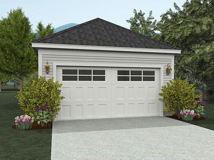 2Car Garage Plan, 062G0007 garage Garage design, 2