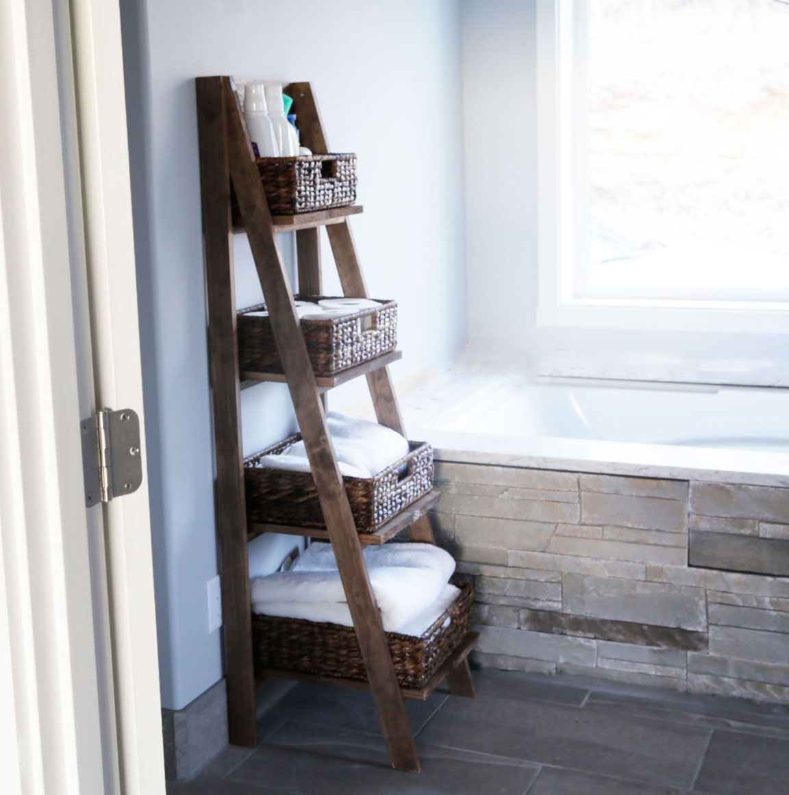 Rustic ladder bookcase best quality furniture check more at