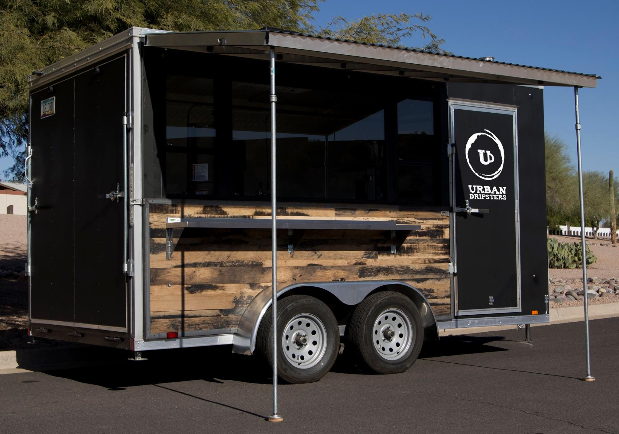 Used 14 Black Coffee Trailer For Sale In Mesa Arizona Coffee Trailer Coffee Truck Food Trailer For Sale