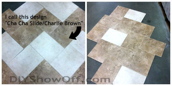 Daltile Atmosphere Tile Collection - Briton Bone and Pacific Sand