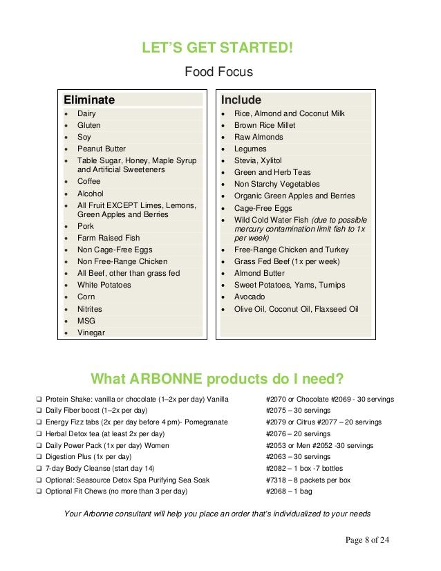 30 days to feeling fit guide Arbonne ☆ Want PURE, SAFE