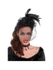 Black Gothic Fascinator - Party City  1d58d3d0483