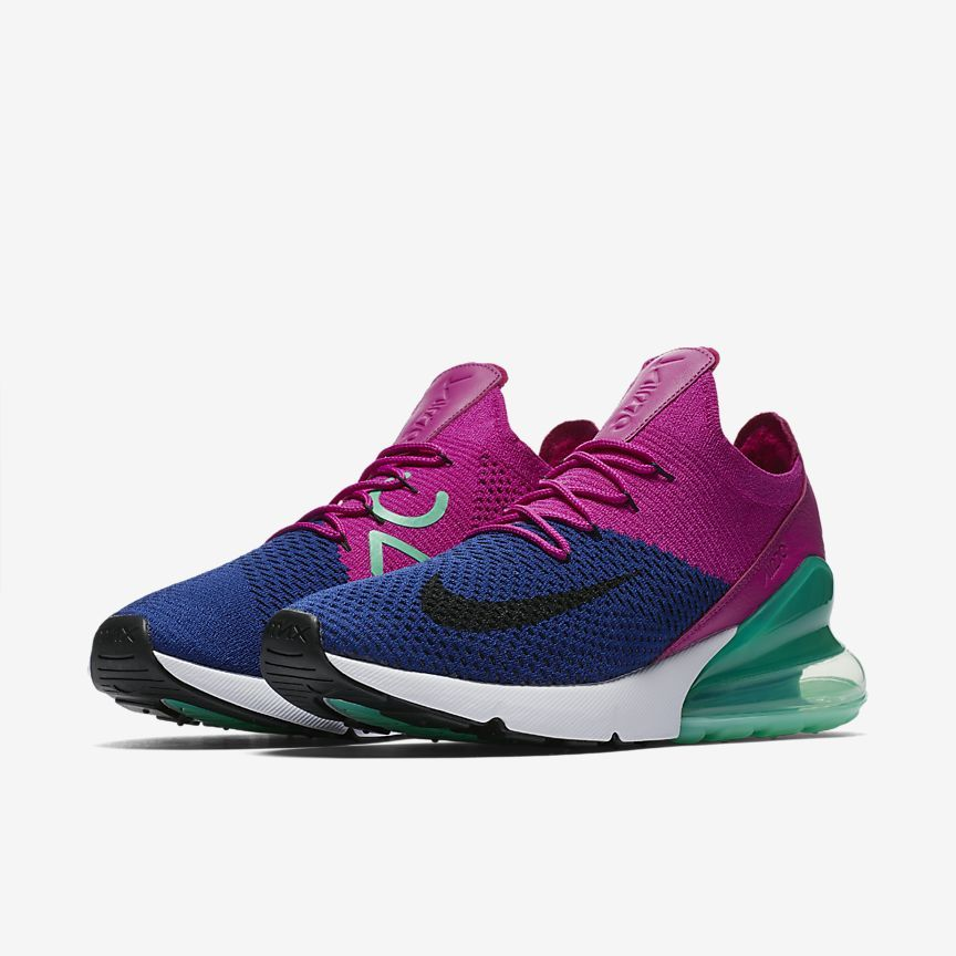 Air Max 270 Flyknit Men's Shoe in 2019 | Stylish Shoes (NIKE