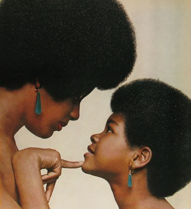 Mother love (I hope to be a mommy 1 day!) Black Woman!