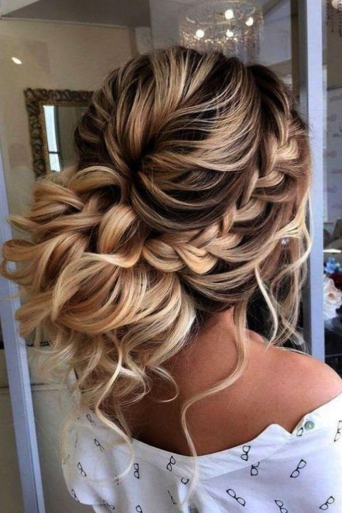 26 Stunning Braided Bun Hairstyles Ideas Braids For Long Hair Long Hair Styles Wedding Hairstyles For Long Hair