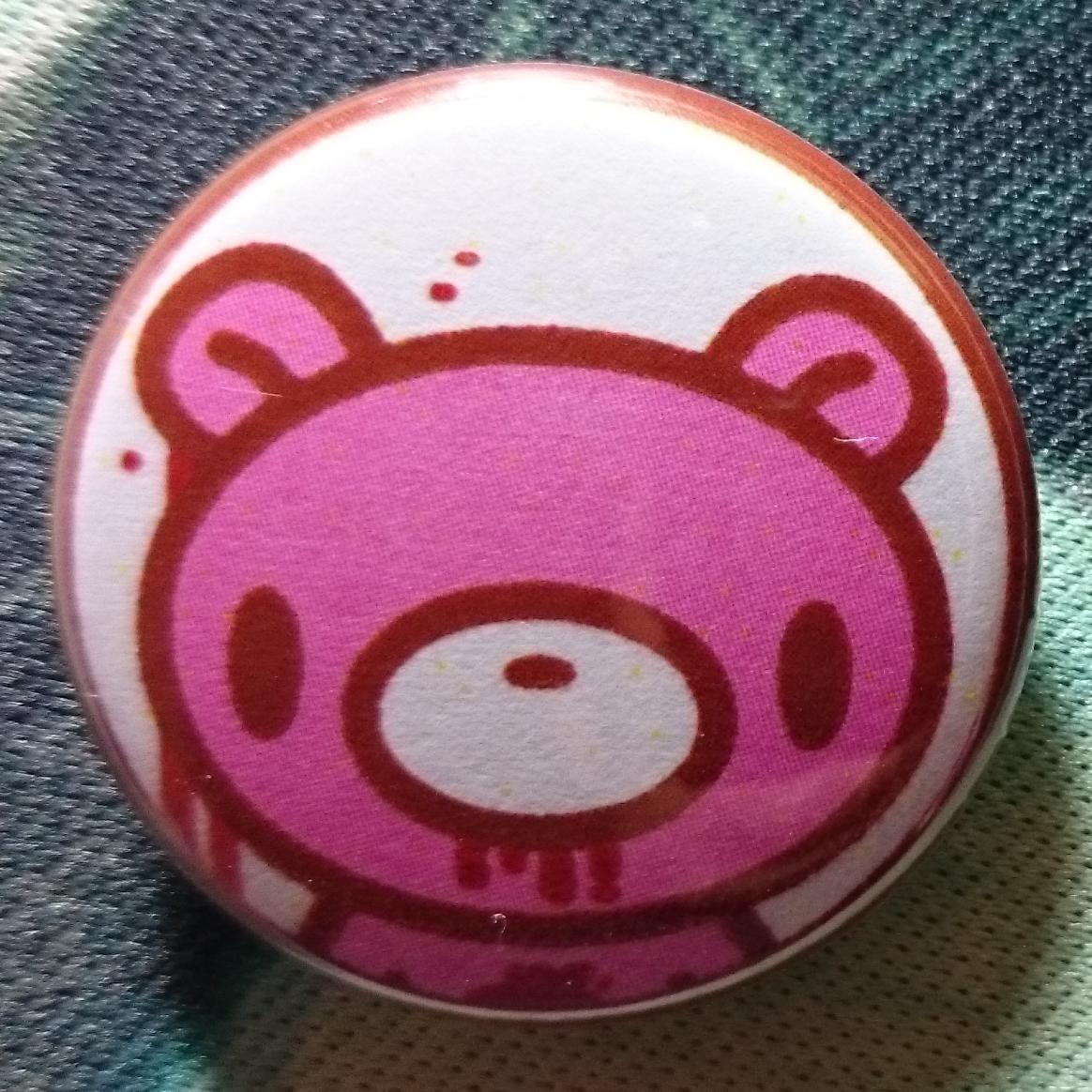 Button Badge #Gloomy #Bear
