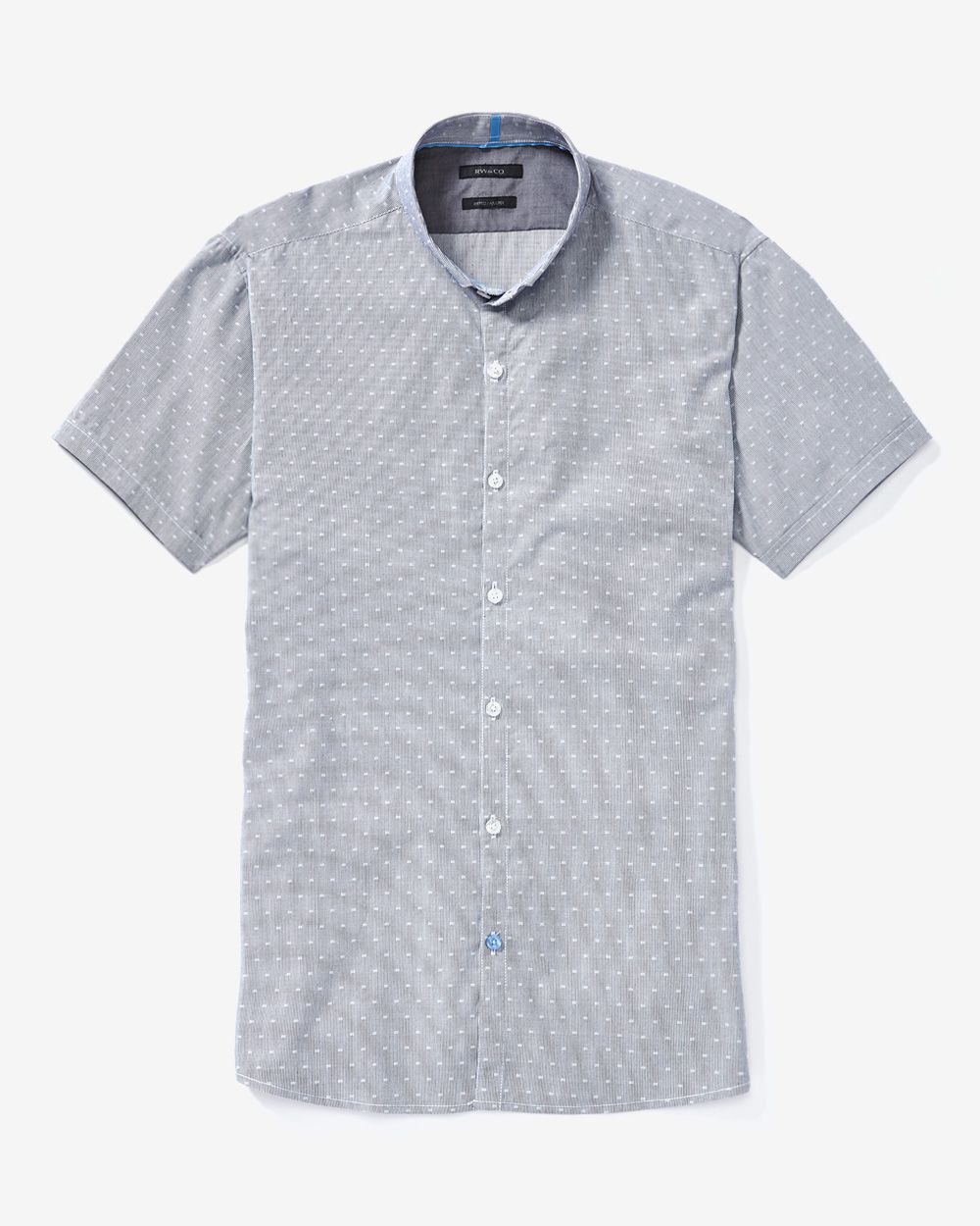 RW&CO.   Short sleeve jacquard shirt   Summer 2015
