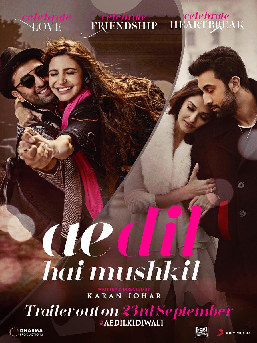 ae dil hai mushkil 1080p movie free download
